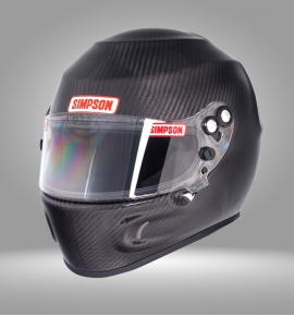 Casco Simpson Carbon Devil Ray