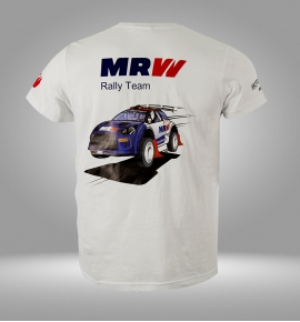 Camiseta caricatura MRW Rally Team 2018