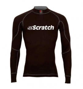 Camiseta negra Scratch